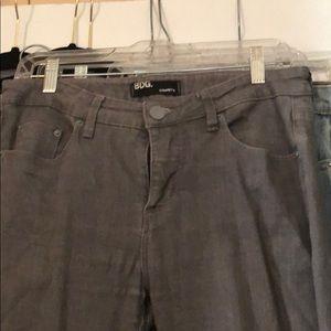 Grey BDG Cigarette Jeans, rarely worn